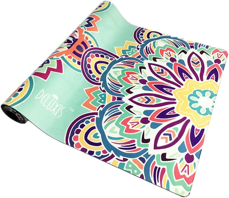 GLJ 0.35 Mm Environmental Predection High Density NonSlip Thick Printed Rubber Yoga Mat Yoga mat
