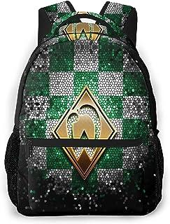 Wer-der Bre-men Freizeitrucksack Schultasche Reise Sport Fitness Rücken Computer Rucksack Ergonomisch Leicht und Vielseitig