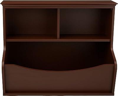 Amazon Basics Meuble de rangement pour jouets et livres d'enfant, multifonction - marron expresso