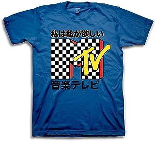 e54df3f7c0e MTV Mens Shirt Vans Checkerboard -  TBT Mens 1980 s Clothing - I Want My T