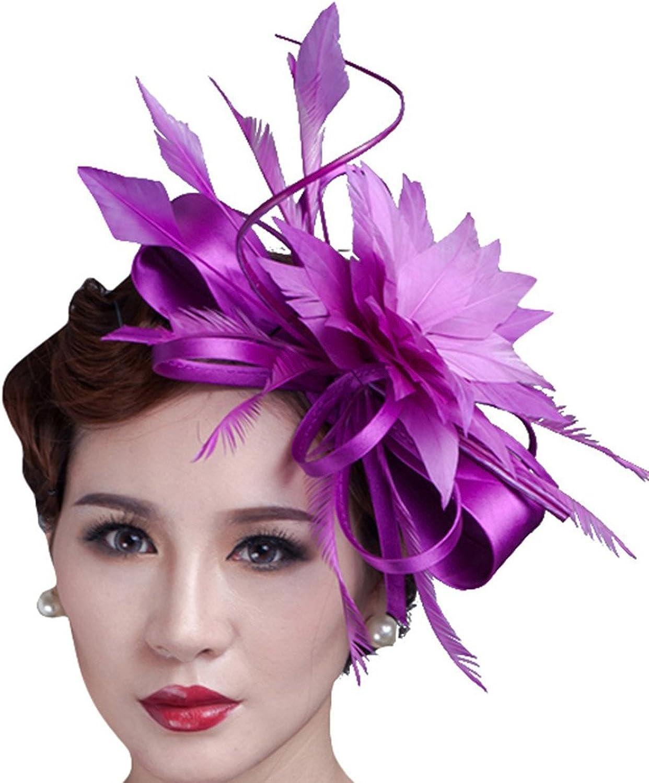 Fascinator Kentucky Derby Hat Wedding Headwear Church Cocktail Party Headdress