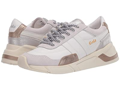 Gola Eclipse Trident (White/Gold/Silver) Women
