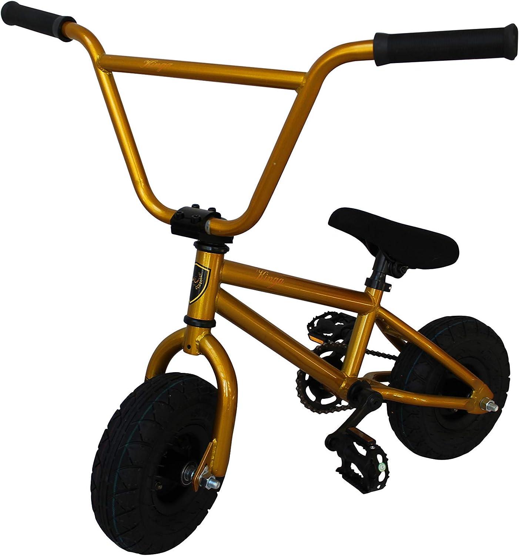 Mini 10  BMX Bikes, Monkey Trick Bike, Stunt Bike, Dirt Bike  gold