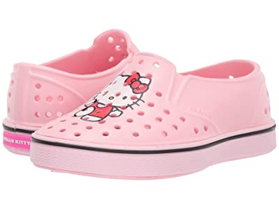 Native Kids Shoes Miles Print (Toddler/Little Kid) (Lantern Pink/Blossom Pink/Hello Kitty) Girls Shoes