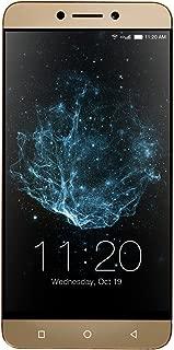 "LeEco | Le S3 Unlocked Dual-SIM Smartphone; 5.5"" Display, 16MP Camera, 4K Video, 32GB Storage, 3GB RAM - Gold (U.S. Warranty)"
