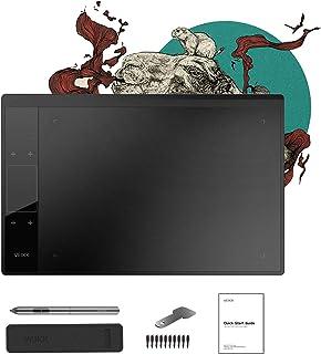 VEIKK ペンタブレット 8192級筆圧感知 ペン 10*6.25インチ板タブ 4個タッチパネルショートカットとジェスチャーコントロール A30