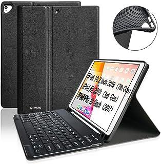 BAIBAO Teclado para iPad 10.2 2019, Funda Teclado para iPad