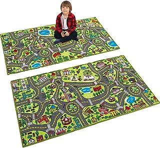 JOYIN 2 Pack Playmat City Life Carpet Playmat for Kids...