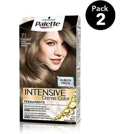 Palette Intense - Tono 6.1 Rubio Oscuro Ceniza - 2 uds ...