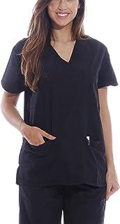 Dreamcrest Ultra Soft Women's Scrub Tops Medical Scrubs Nursing Uniforms