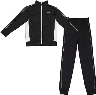 Spalding 男童經編針織兩件套運動套裝