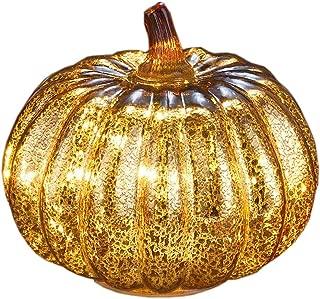 Best glass pumpkins with lights Reviews