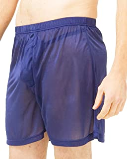 Set of 4 Solid Knit Silk Boxers Multi-Pack.