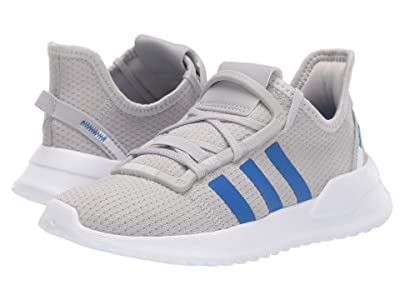 adidas Originals Kids U_Path Run (Little Kid) (Grey/Blue/White) Boy