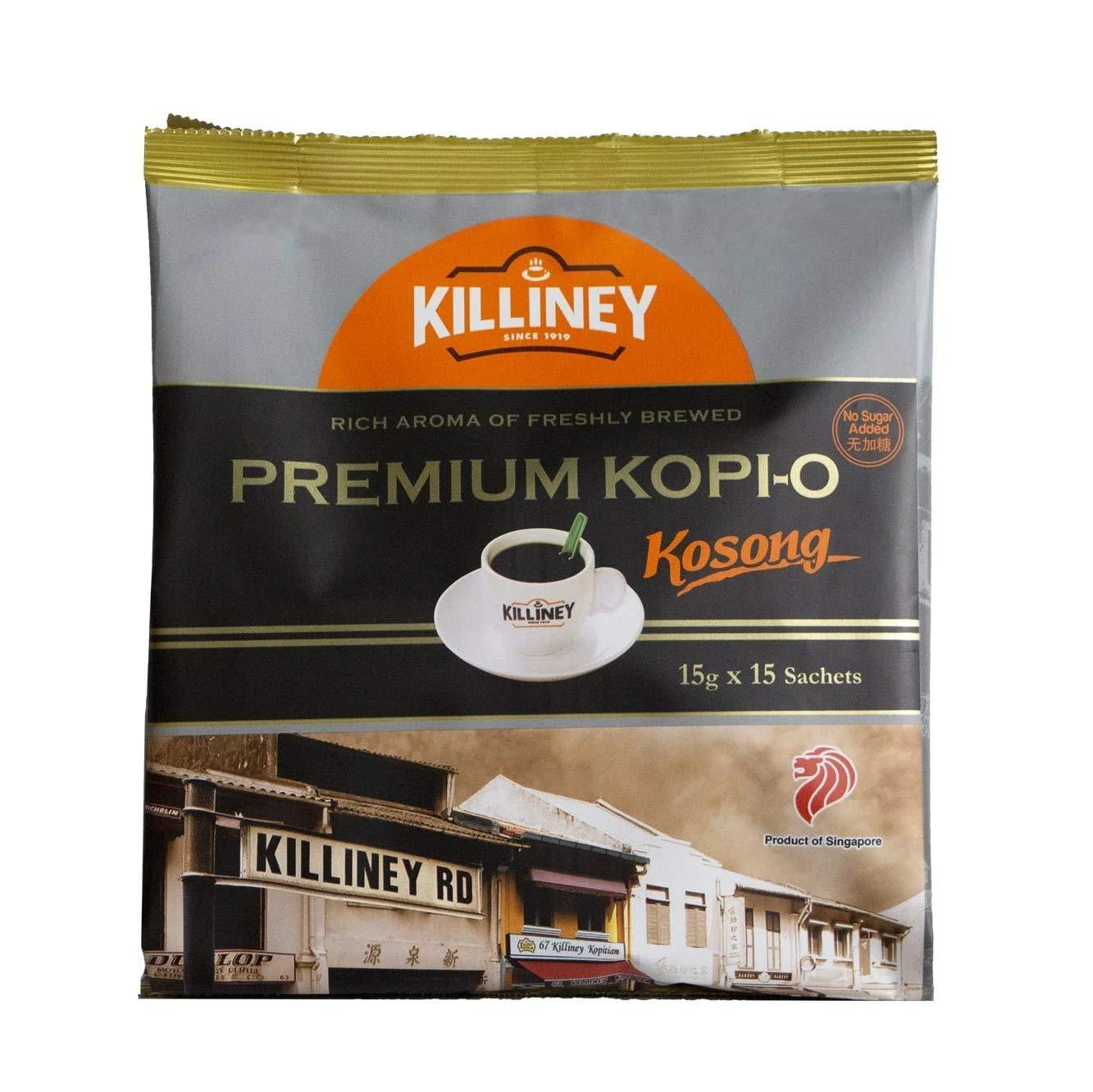 Elegant Killiney Premium Kosong Over item handling Kopi-O