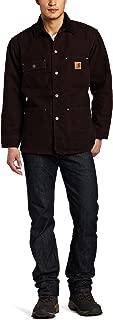Carhartt Men's Big & Tall Chore Coat Blanket Lined Sandstone C02