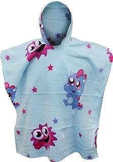 19271c87113 Moshi Monsters - Couverture poncho en polaire - Enfant (90cm x 120cm) (Bleu