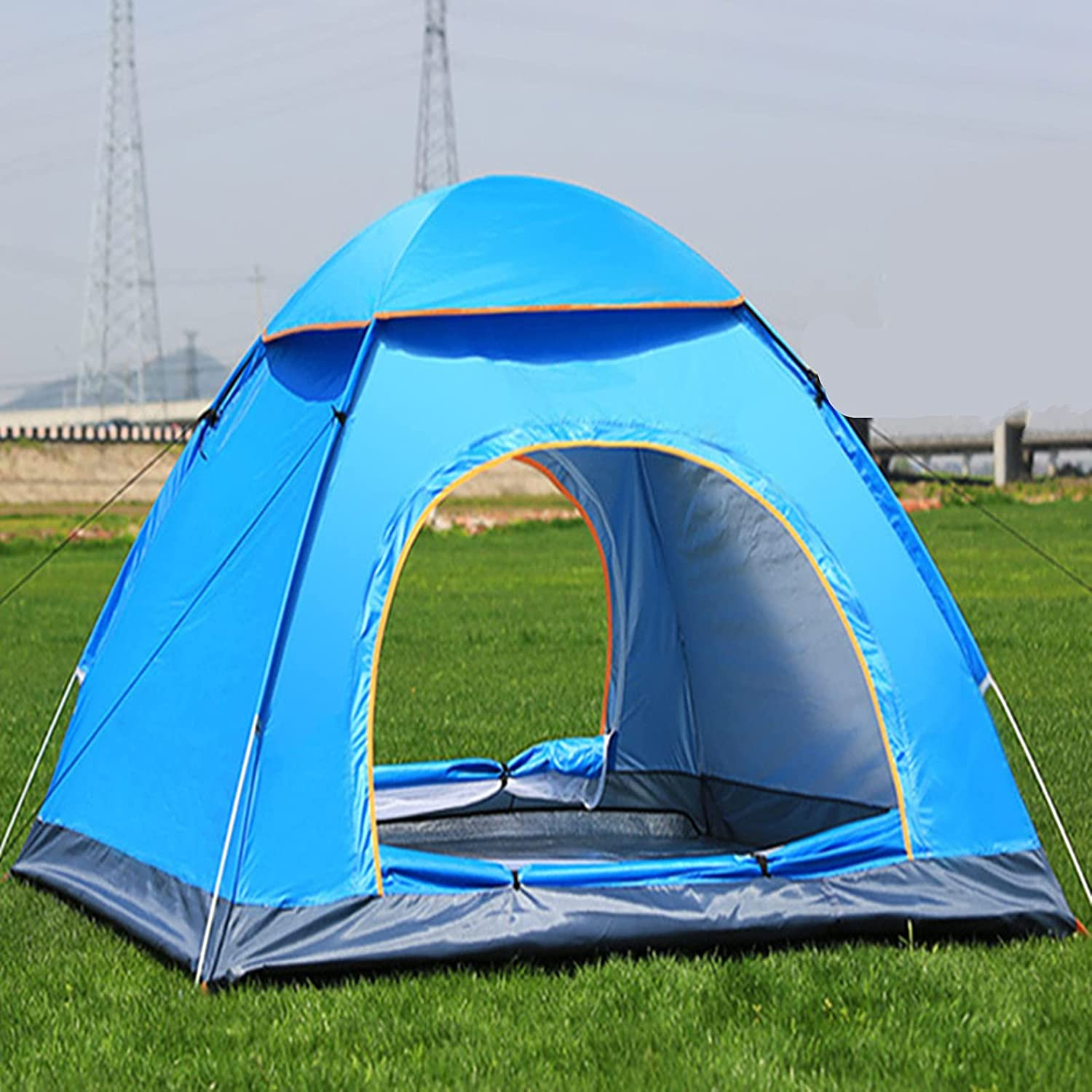 Max 66% OFF MVNZXL Outdoor Pop Up Tent Regular store and Person Hiking Camping 2~4