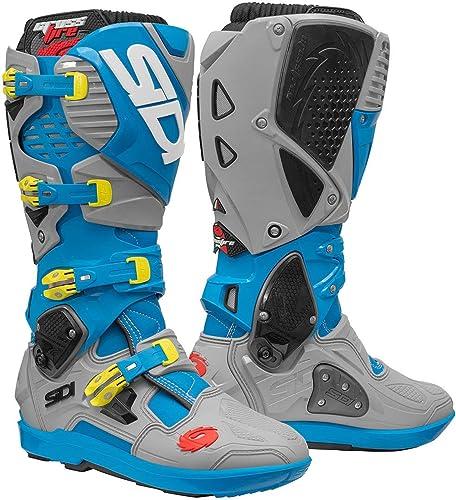 SIDI Crossfire 3 SRS - Stiefel de Motocross, Farbe Blau Ceniza 42 EU Blau Claro