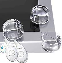 HAPPY CHLEA® 12 Protector de Esquinas Para Bebes y Niños, Protectores de Seguridad para Mesas y muebles, Tecnología