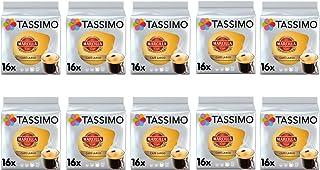 TASSIMO Marcilla Cafe - Cápsulas grandes de café para desayuno, paquete de 10 (160 bebidas)