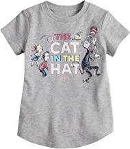 Jumping Beans Toddler Girls 2T-5T Dr. Seuss' The Cat in The Hat Glitter Graphic Tee