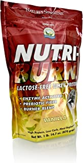 Nature's Sunshine Nutri-Burn Protein Matrix, Vanilla, 2lb | Meal Replacement Protein Shake with 25 Grams of Whey and Calcium Caseinate to Promote Lean Muscle Mass
