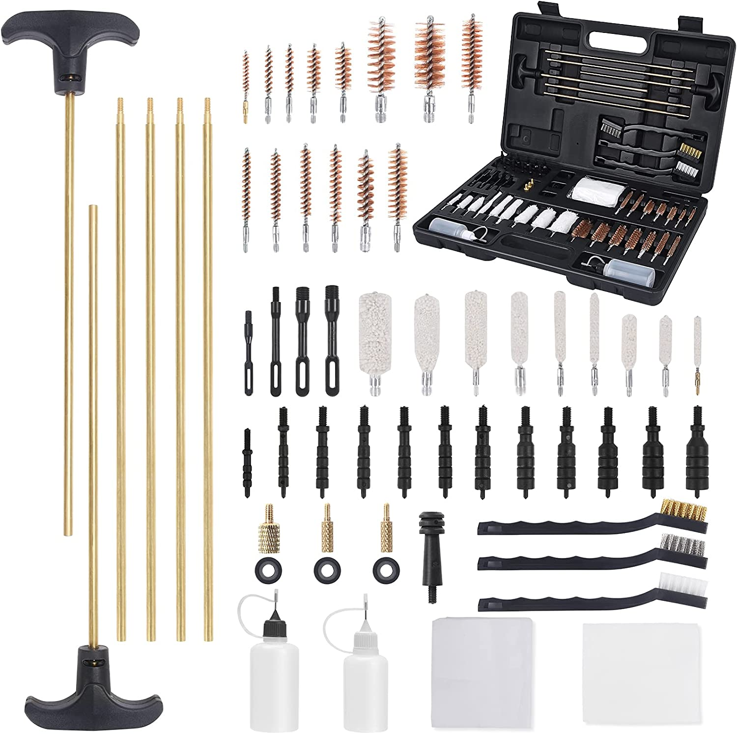FullLit Universal Gun Cleaning Kit an Brushes Classic Today's only Guns All for