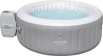"""Bestway 60038E St. Lucia SaluSpa St.Lucia AirJet Inflatable Hot Tub (67"""" x 26""""), Gray"""