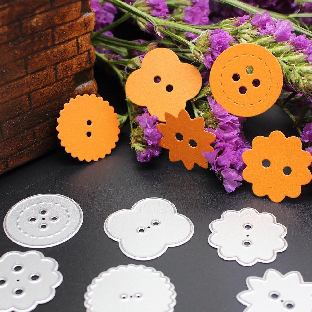 Demiawaking Coupe Dies Pochoir Cadre D/écoration DIY gaufrage pour album de scrapbooking papier Fabrication de cartes