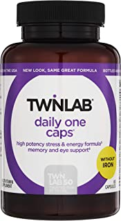 Twinlab Daily One Without Iron 60 Capsules