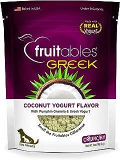 Fruitables Greek Coconut Yogurt Crunchy Dog Treats