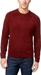 Weatherproof Vintage Men's Textured Raglan Sweater