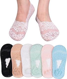 L&K Pack de 10 Calcetines Sneaker Cortos para Mujer Invisible Multicolor 2012 39-42
