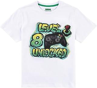 Camiseta de Cumpleaños de 8 Años Niño Joven Octavo cumpleaños Manga Corta