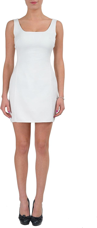 DSQUARED2 White Sleeveless Women's Sheath Dress US S IT 40