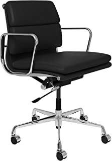 SOHO Premier Soft Pad Management Chair (Soft Pad, Black)
