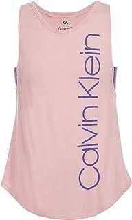 CALVIN KLEIN Big Girls' Performance Logo Tank Top