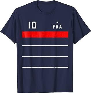 France 2018 Mariniere Soccer T-Shirt