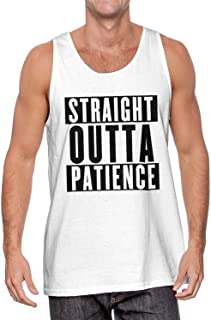 HAASE UNLIMITED Straight Outta Patience - Fed Up Upset Men's Tank Top