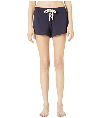 Eberjey Mason The Lace-Up Shorts (Indigo Sea) Women