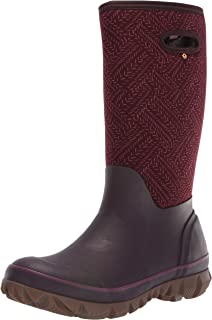 BOGS Women's Whiteout Waterproof Insulated Winter Rain Boot