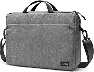 tomtoc Laptop Shoulder Bag for 13-inch MacBook Pro, MacBook Air, 13.5 Inch Surface Book, Surface Laptop, Multi-Functional Organized Laptop Messenger Bag Briefcase for Surface Pro Dell XPS 13 ThinkPad
