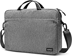 tomtoc 15.6 Inch Laptop Shoulder Bag for 15-inch MacBook Pro, Surface Book 2, Dell XPS 15, Multi-Functional Organized Laptop Messenger Bag for HP ASUS Acer Lenovo Samsung 15.6 inch Laptop Accessories