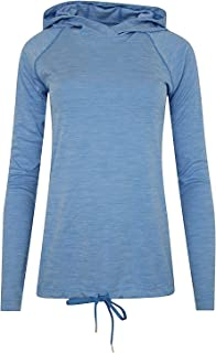 Under Armour Women's Athletic HeatGear Long Sleeve Top Hooded Anti Odor Shirts