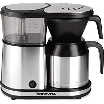 Bonavita 5-Cup One-Touch Coffee Maker Featuring Thermal Carafe, BV1500TS