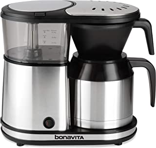 Best bonavita 5 cup brewer with stainless steel carafe Reviews