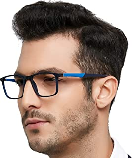 TR90 Men's Eyeglasses Frame Fashion Non Prescription...