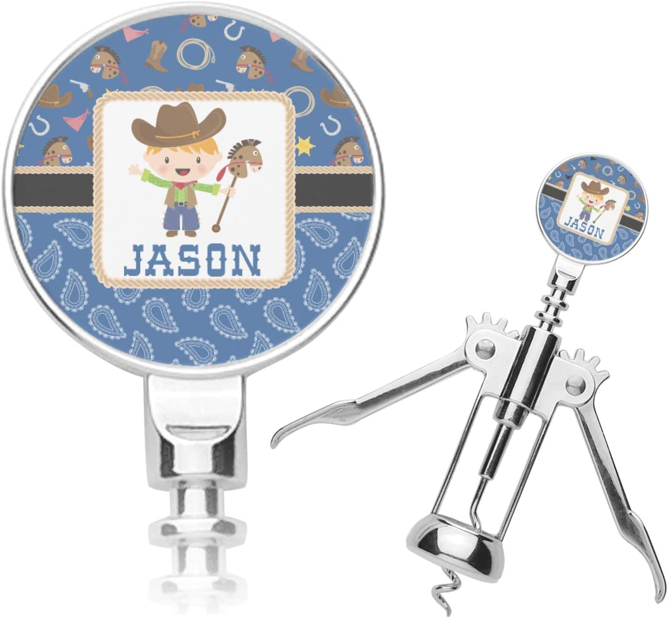 Blue Max 56% OFF OFFer Western Personalized Corkscrew