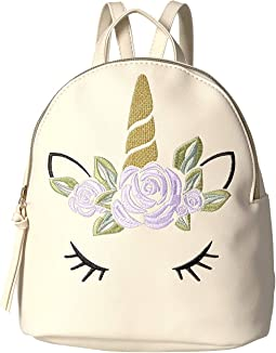 Embroidered Unicorn Backpack